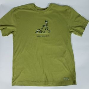 4be3f8d6 Life Is Good Shirts | Mens Golf Bbq Jake Tee Sz M Orange | Poshmark